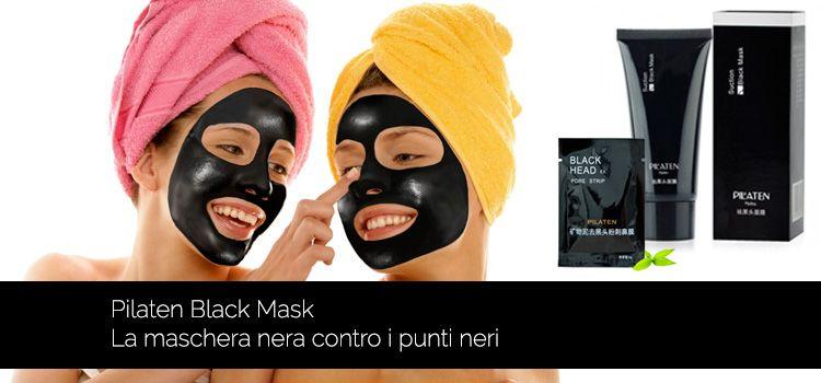 Le maschere schiarenti per pori allargati della persona